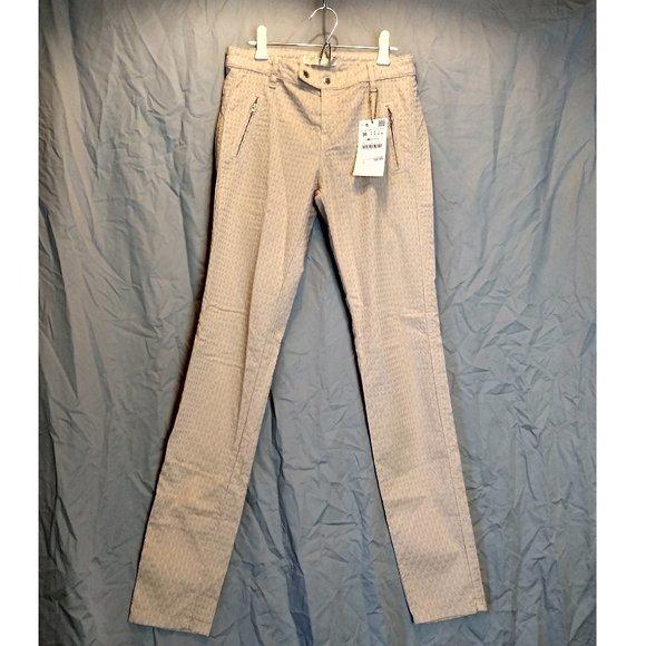 Zara Denim - zara basic z1975 denim tan size 4 skinny jeans
